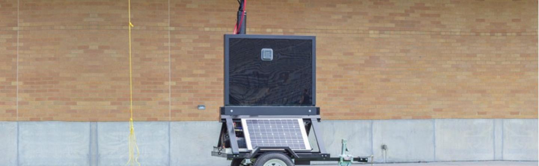 trailer mount practice timer
