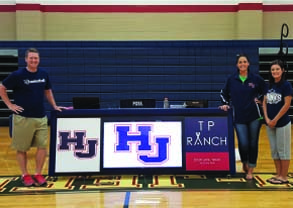Hardin Jefferson's new Basketball Scoring Table