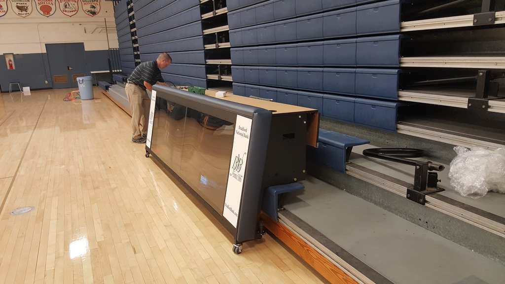 Patented Bleacher models available